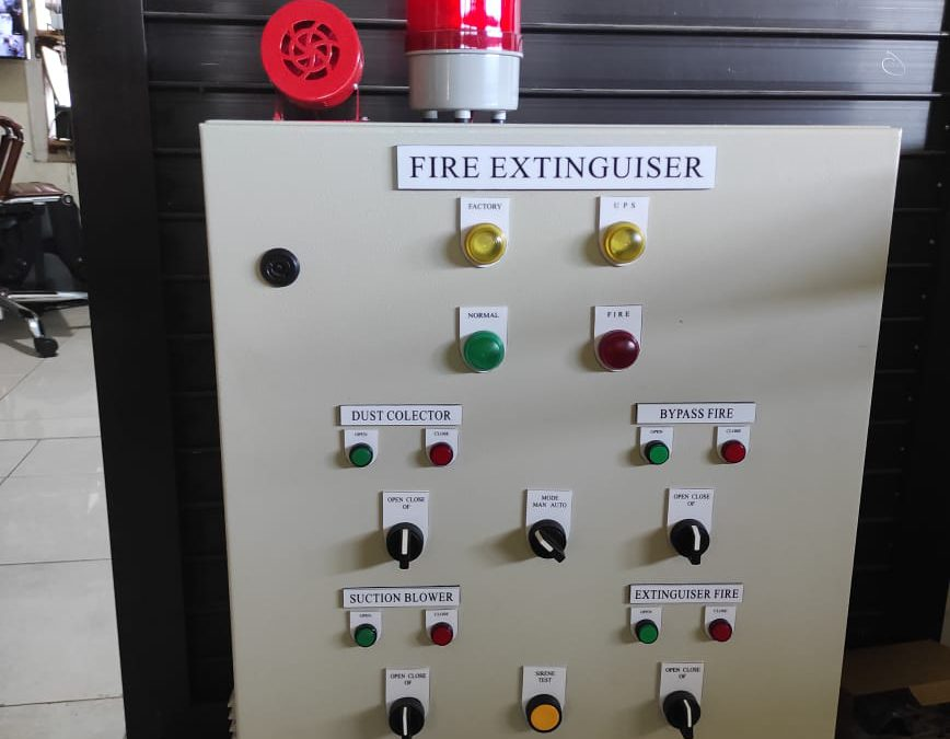 Panel Fire Extinguisher System